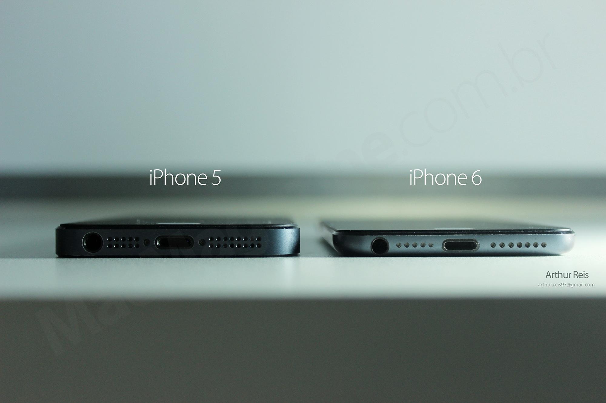 """Conceito de Arthur Reis para o """"iPhone 6"""""""