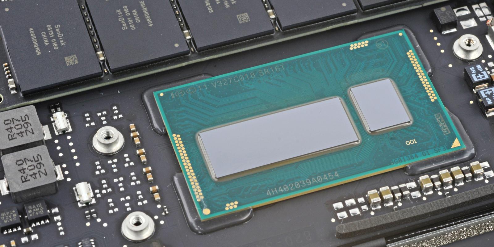 Processador do novo MacBook Air