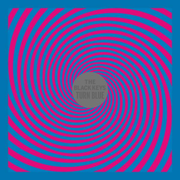"""Capa do álbum """"Turn Blue"""""""
