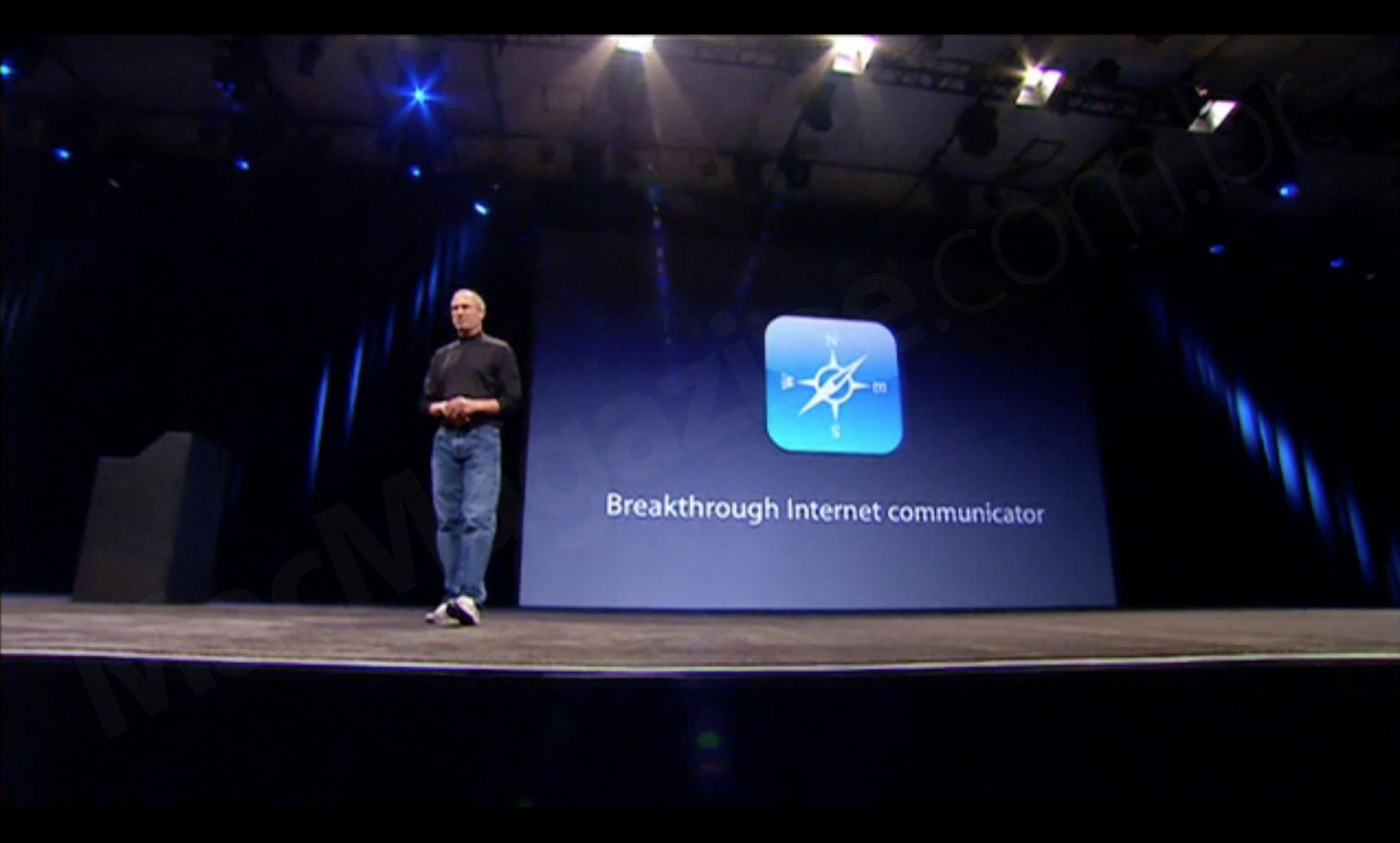 Apresentação do iPhone na Macworld 2007