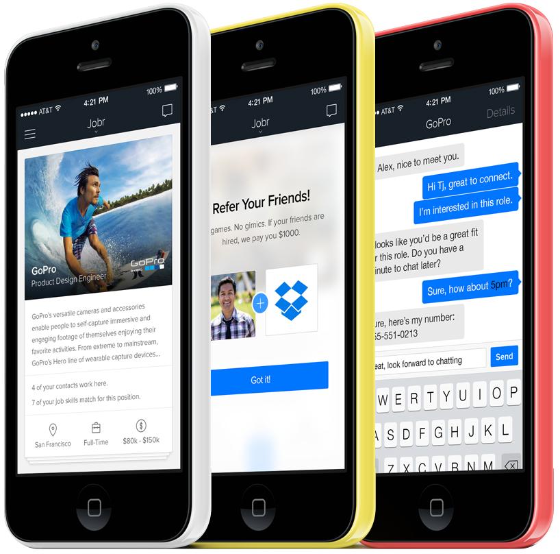 App Jobr para iPhones/iPods touch
