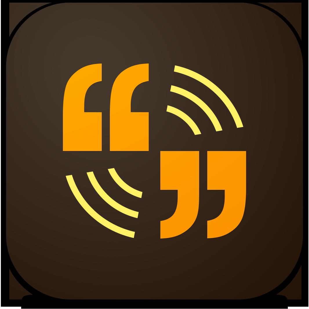 Ícone - Adobe Voice