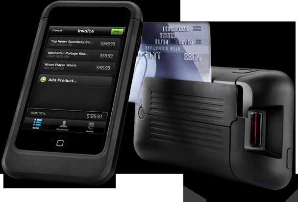 iPod touch como terminal móvel de pagamento