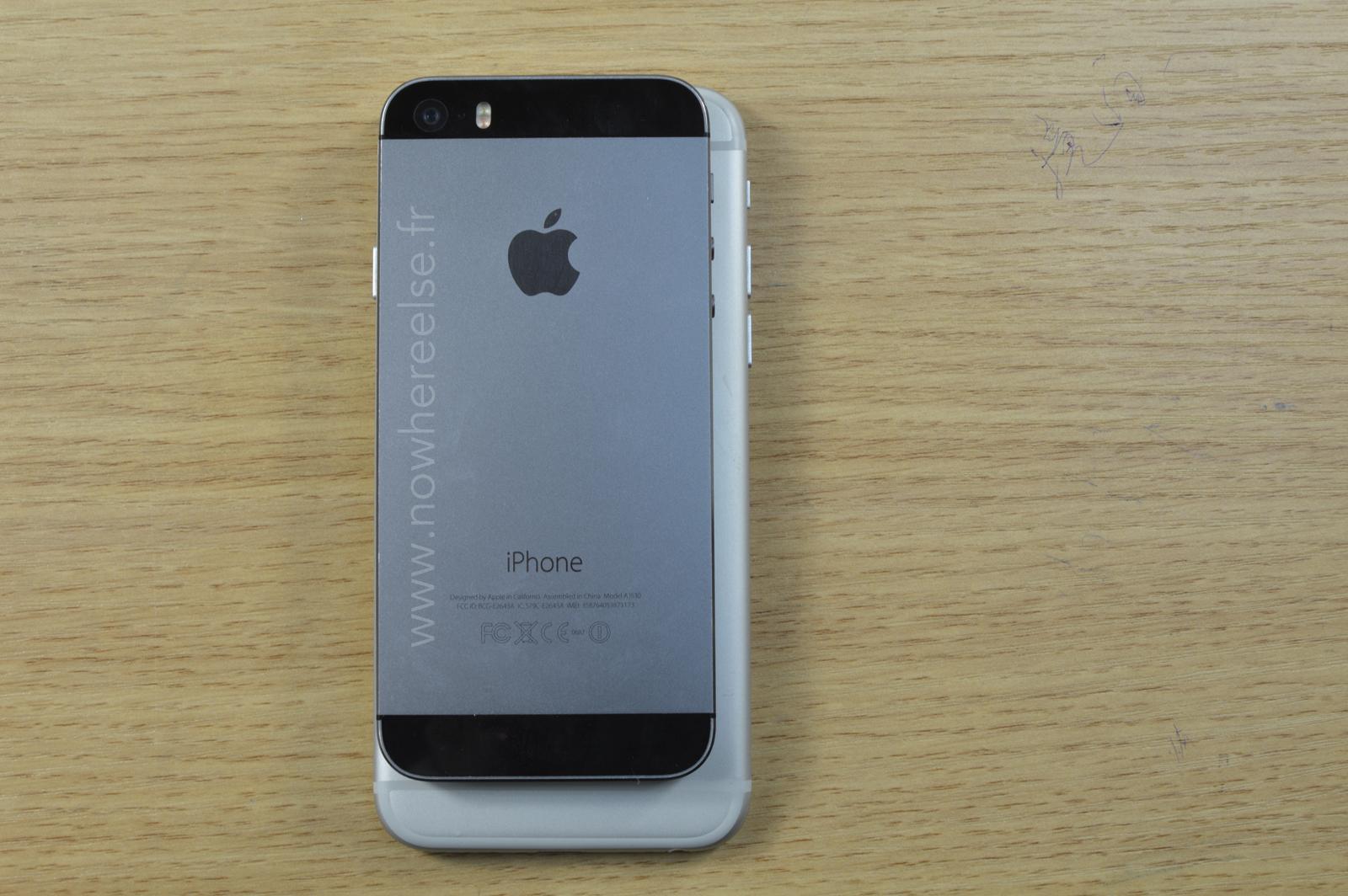 Dummy de iPhone 6 comparado com 5s
