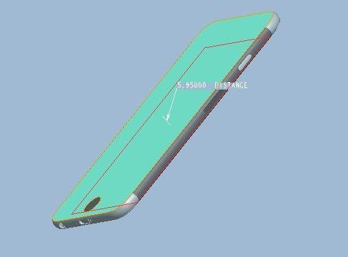 Suposto esquema técnico do iPhone 6