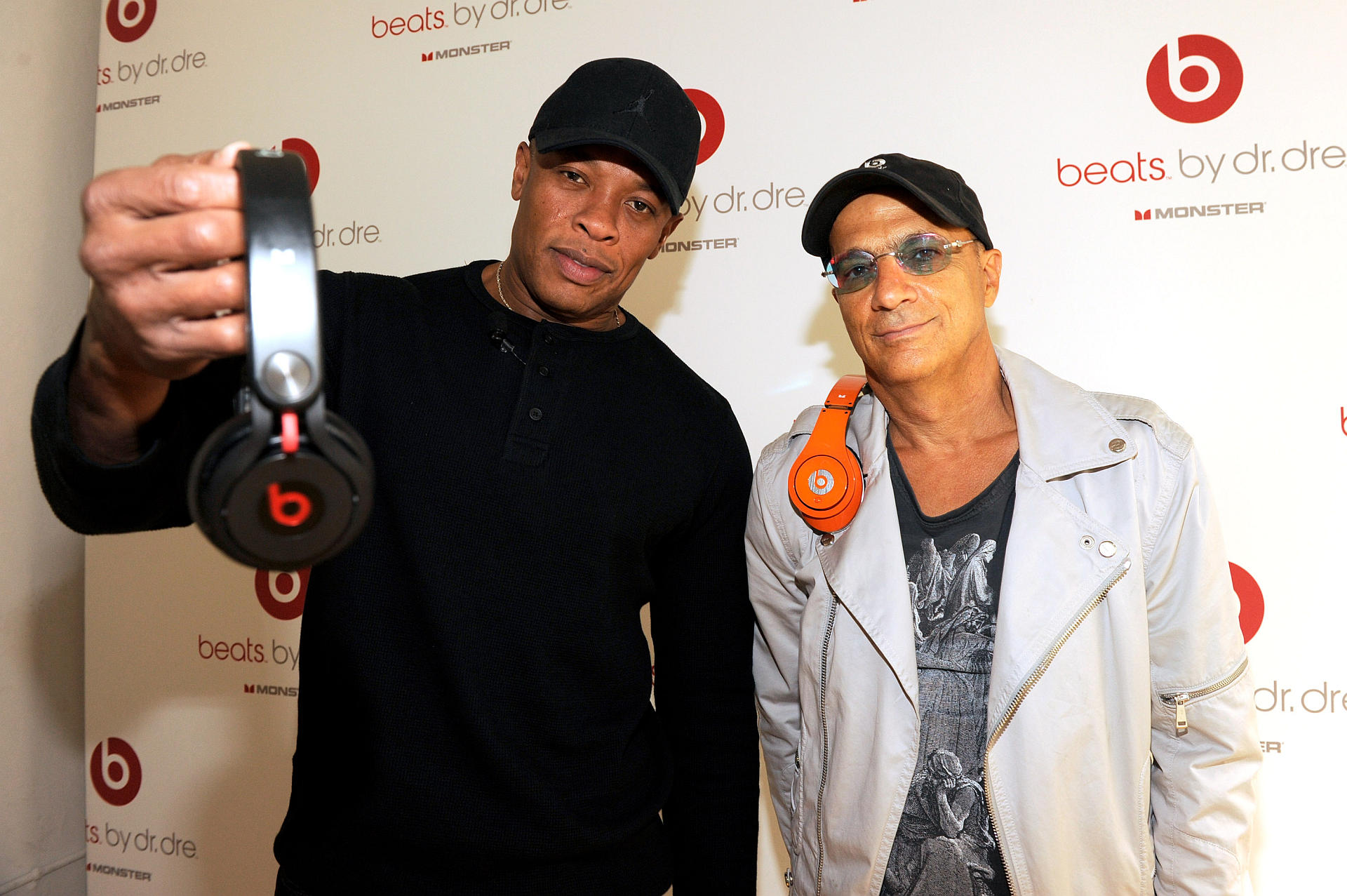 Dr. Dre e Jimmy Iovine da Beats