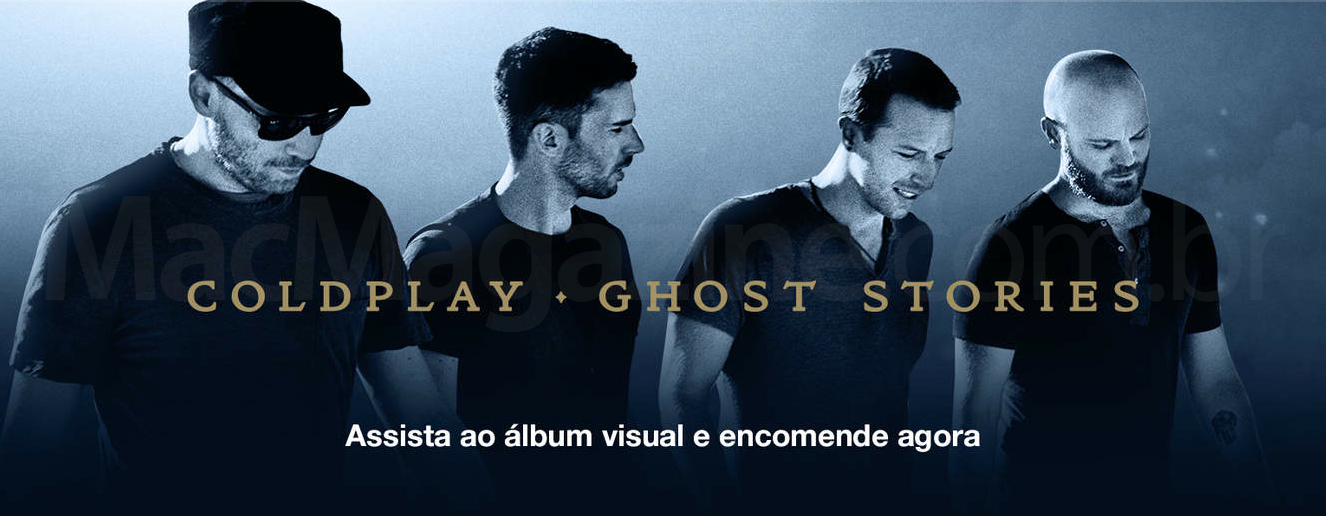 Banner de Coldplay - Ghost Stories