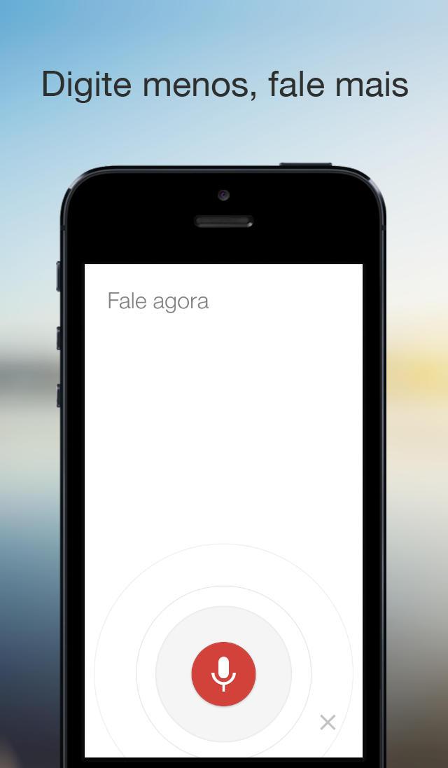 App Pesquisa Google para iOS