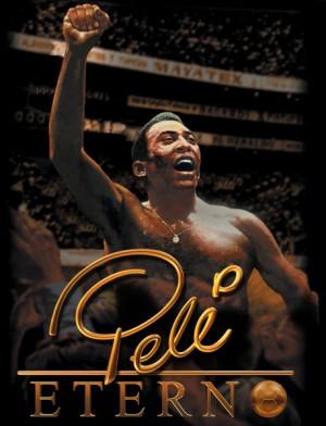 """Capa do livro """"Pelé Eterno"""""""