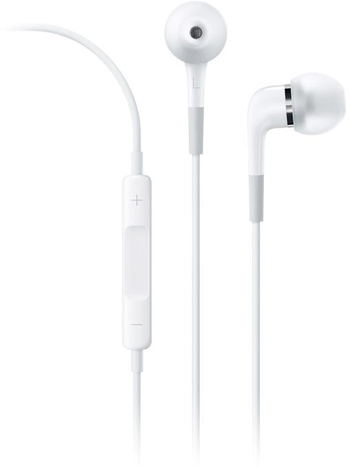 Apple - Fone de ouvido intra-auricular Apple com controle remoto e microfone