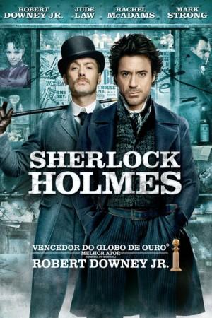 "Cartaz do filme ""Sherlock Holmes"""