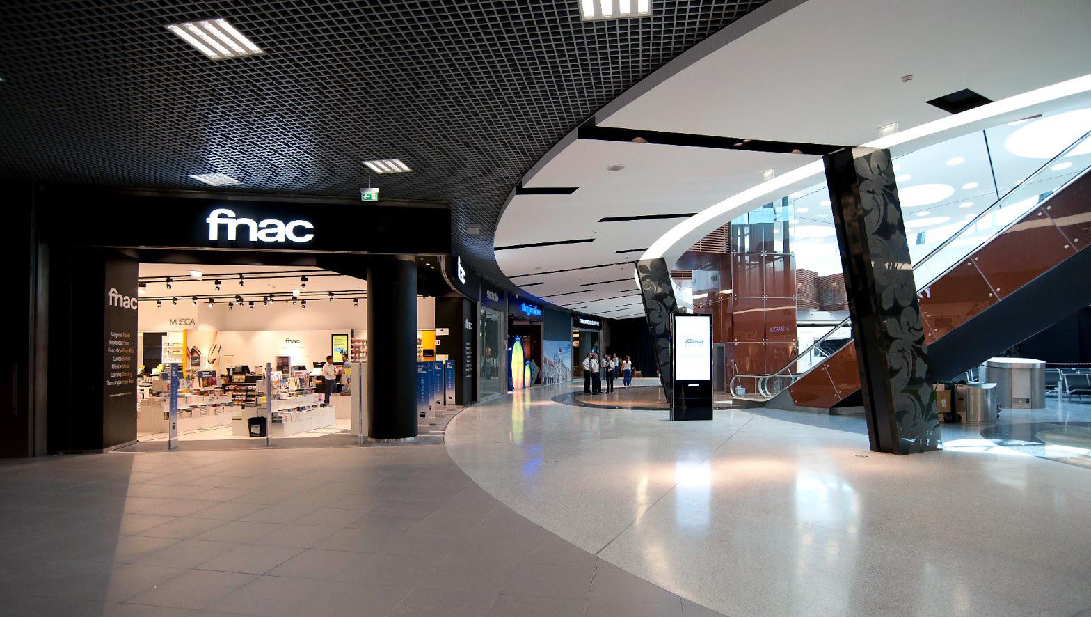 Fnac no Aeroporto de Lisboa