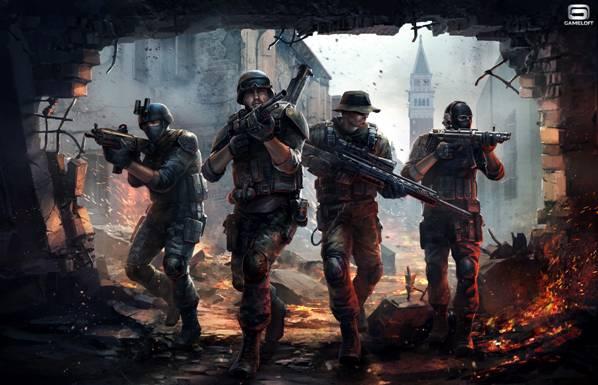 Modern Combat 5 da Gameloft