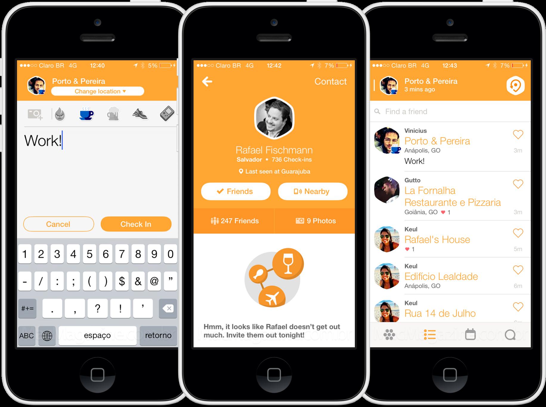 App Swarm para iPhones/iPods touch