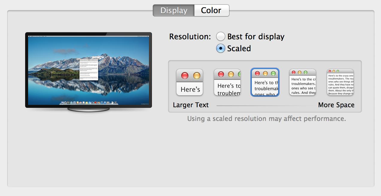 Monitor 4K no OS X 10.9.3