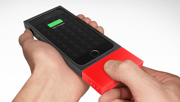 AUGMENT: uma case e um sistema de recarga modular para iPhones