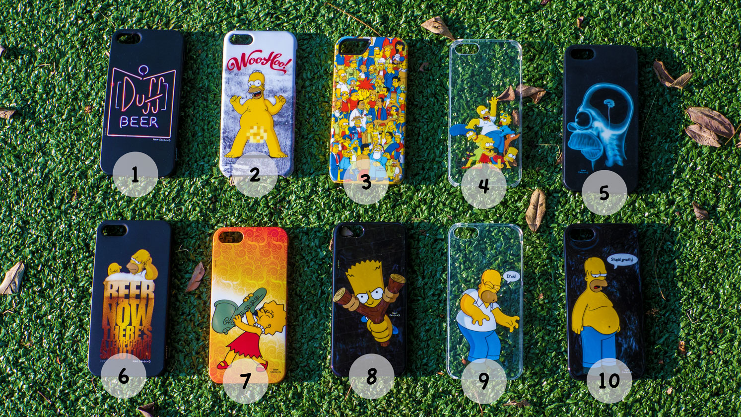 Cases dos Simpsons