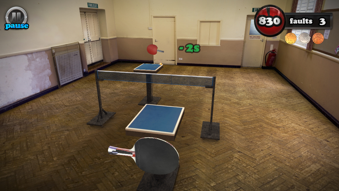 Screenshot de Table Tennis Touch
