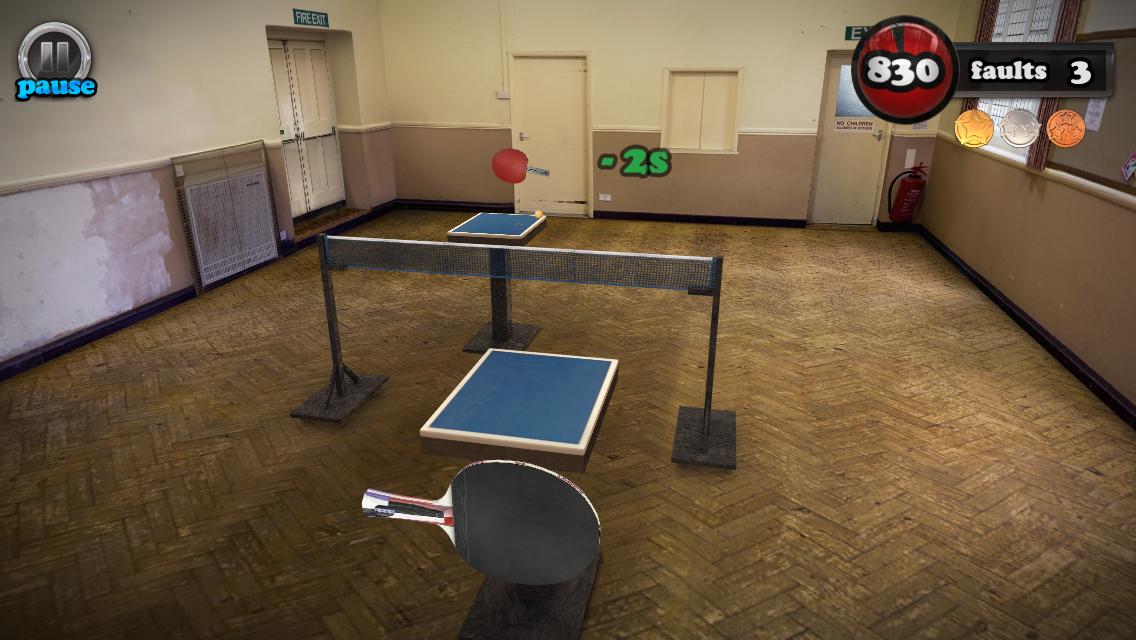 Screenshot de Table Tennis Touch