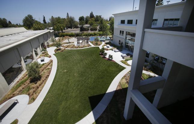 Parte do futuro campus da Apple, em Sunnyvale