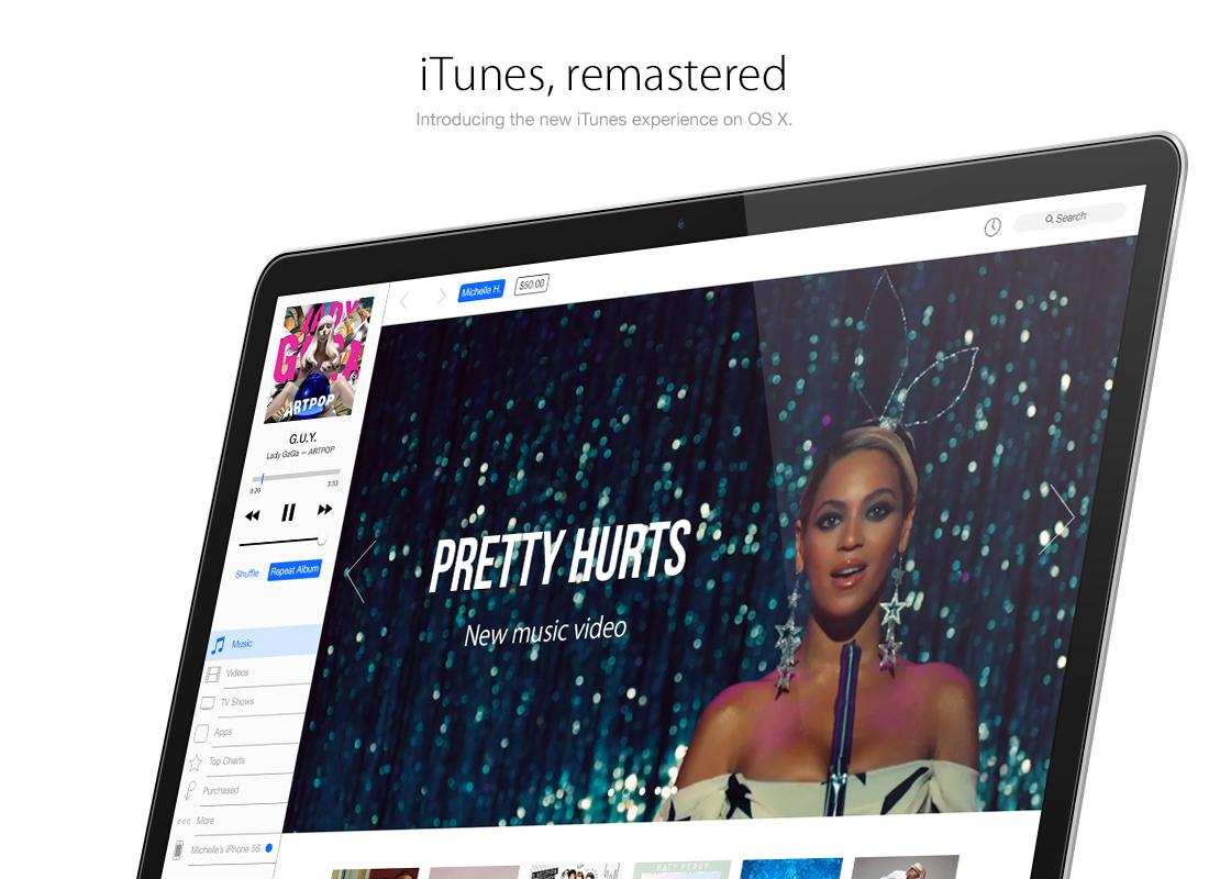 Conceito para o iTunes