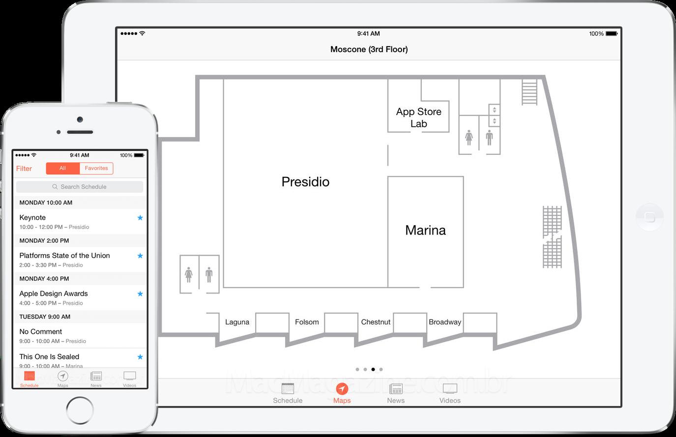 App WWDC para iOS