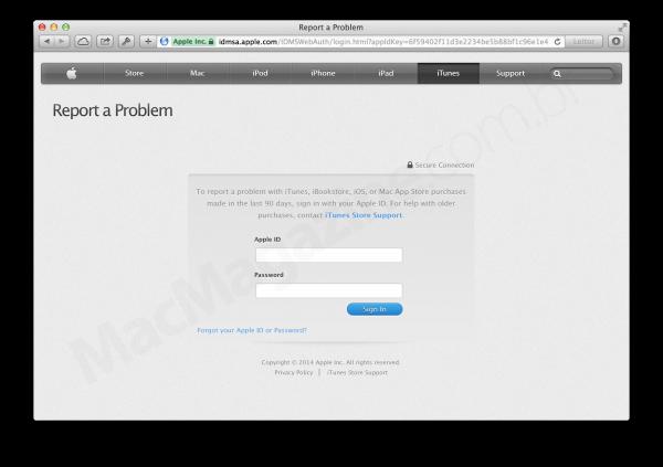 Apple não permite mais que apps reembolsados sejam baixados/atualizados e melhora o sistema de relatar problemas
