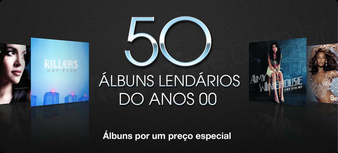 Banner - 50 álbuns lendários dos anos 2000