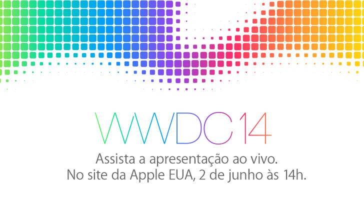 Banner da transmissão da WWDC 2014