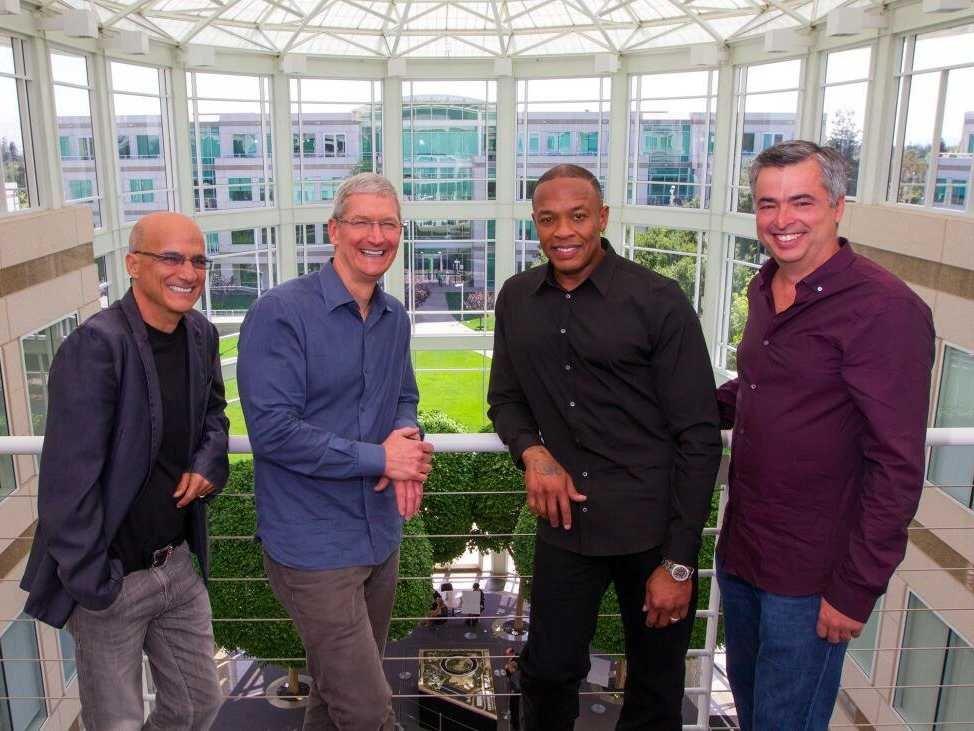 Executivos da Apple e da Beats