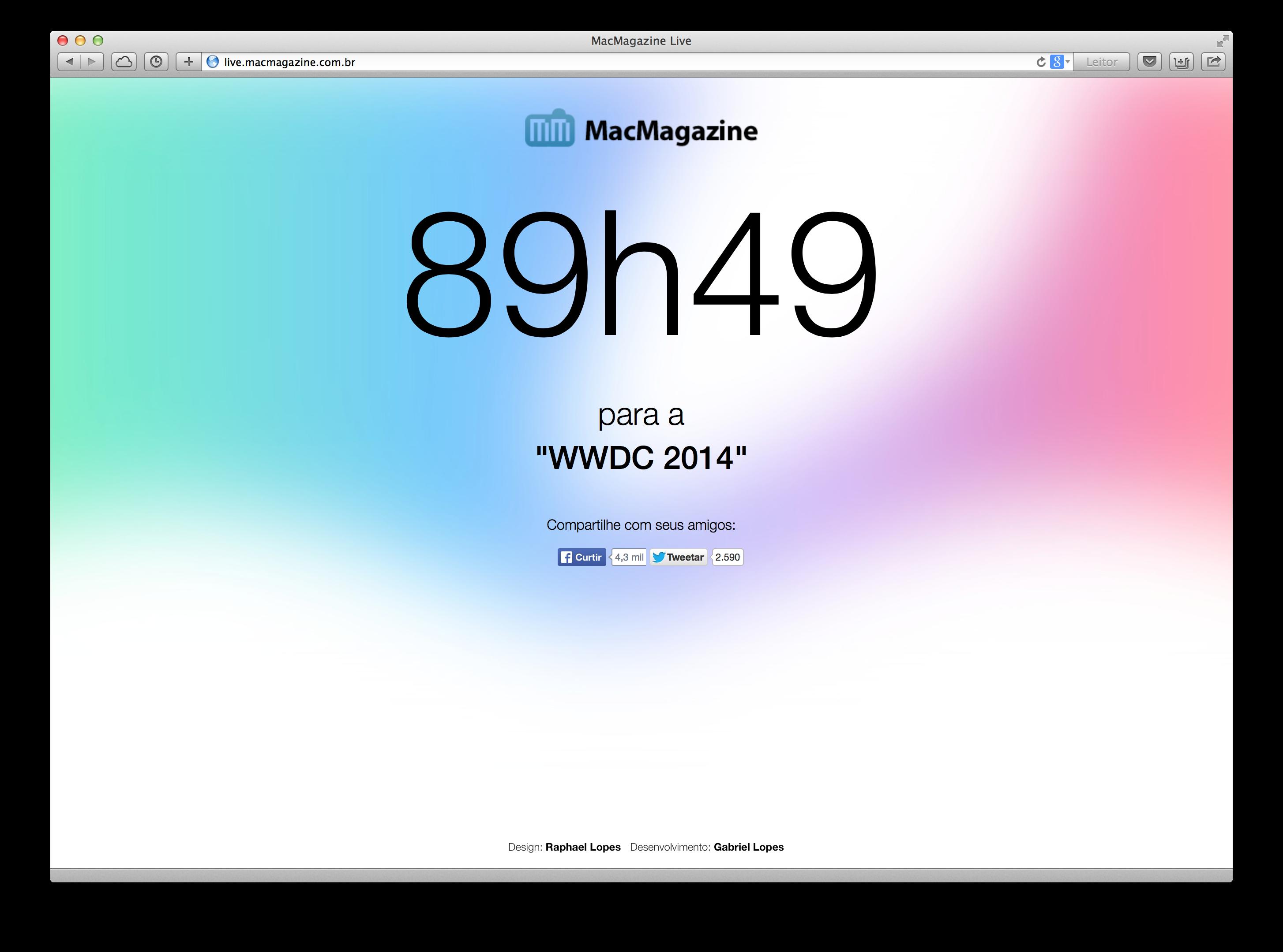 MacMagazine Live - WWDC 2014