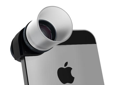 Kit de lentes macro 3-em-1 para iPhones 5/5s