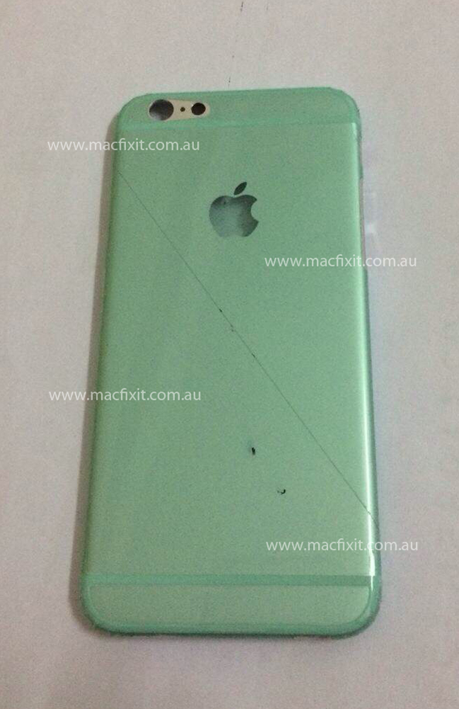 Suposta traseira do iPhone 6