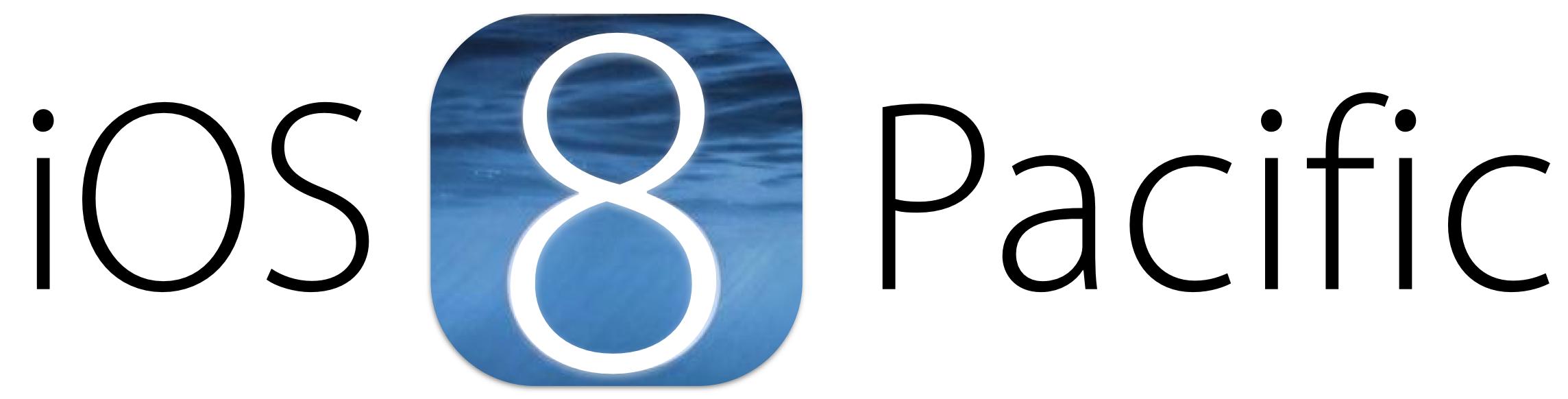 Conceito para a logo do iOS 8