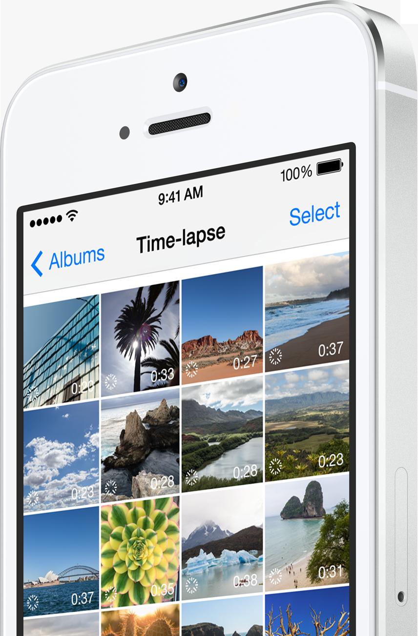 Modo Time-lapse no iPhone com o iOS 8