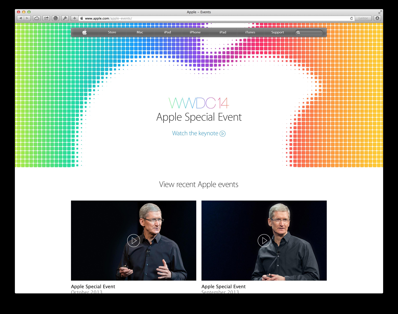 Keynote - WWDC 2014