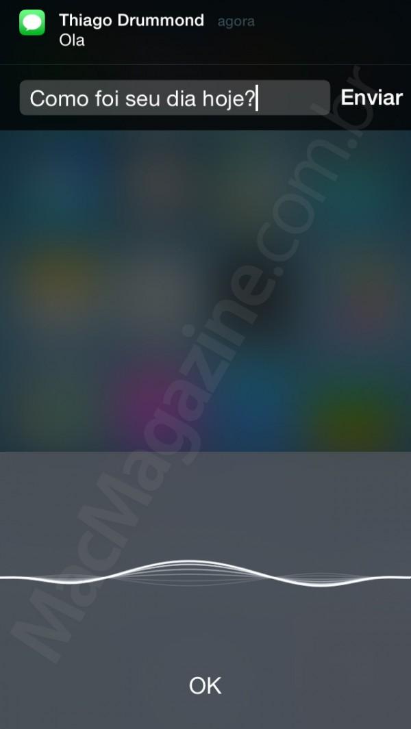 Siri no iOS 8