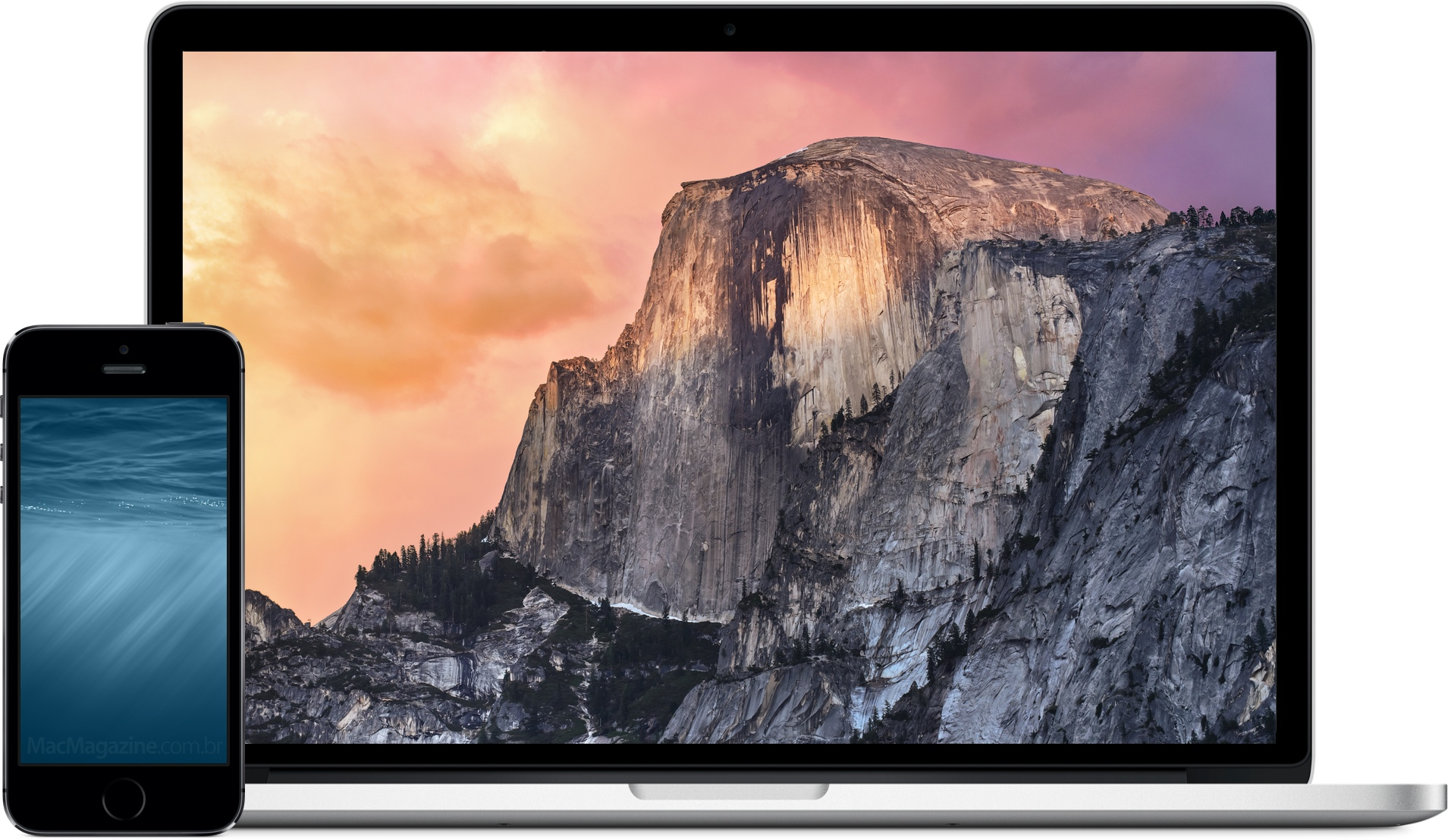 Novos wallpapers da Apple (iOS 8 e OS X Yosemite)