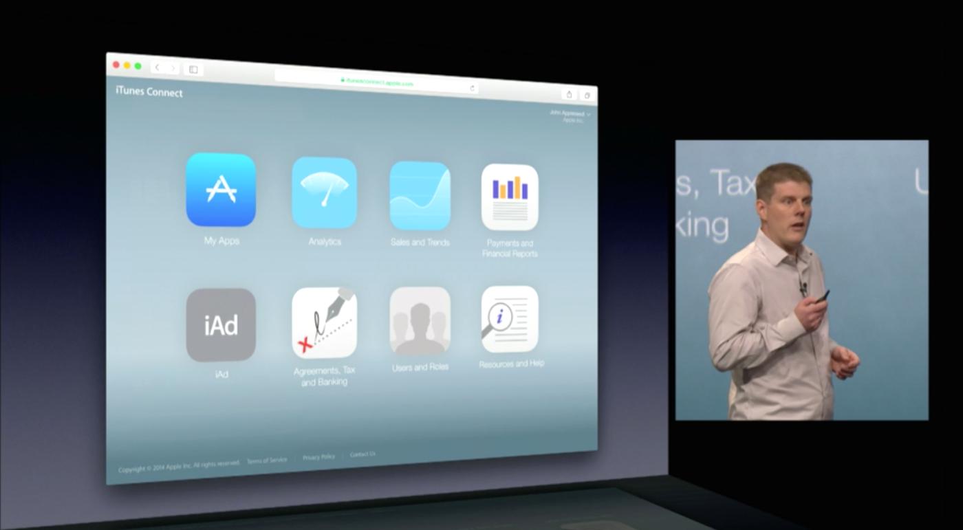 iTunes Connect redesenhado