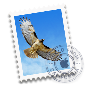 Ícone do OS X Yosemite 10.10 - Mail