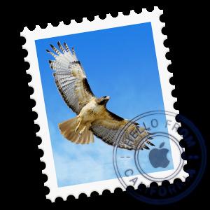 Ícone do OS X Yosemite 10.10 - Mail
