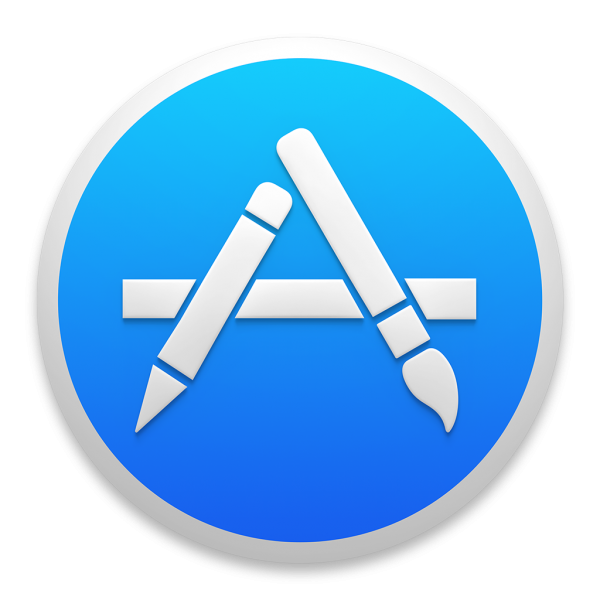 Ícone do OS X Yosemite 10.10 - Mac App Store