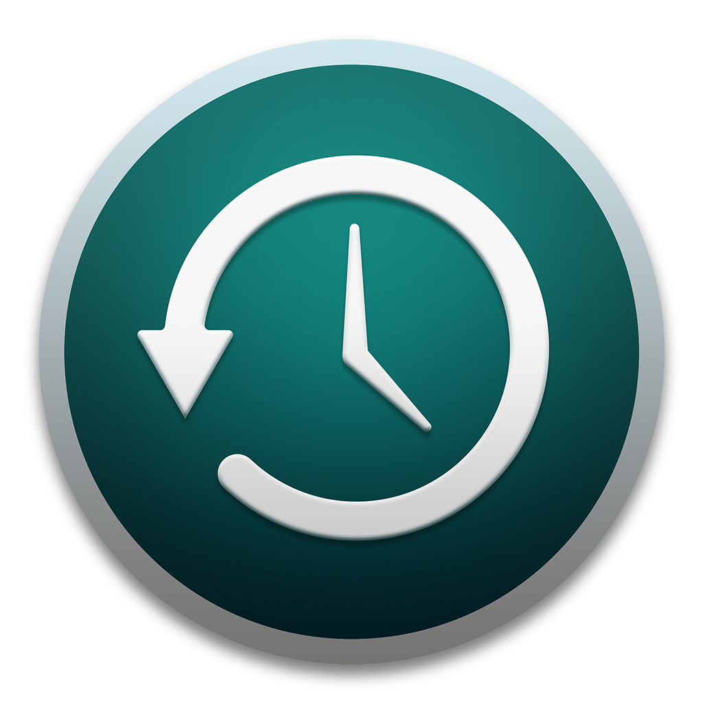 Ícone do OS X Yosemite 10.10 - Time Machine
