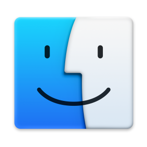Ícone do OS X Yosemite 10.10 - Finder