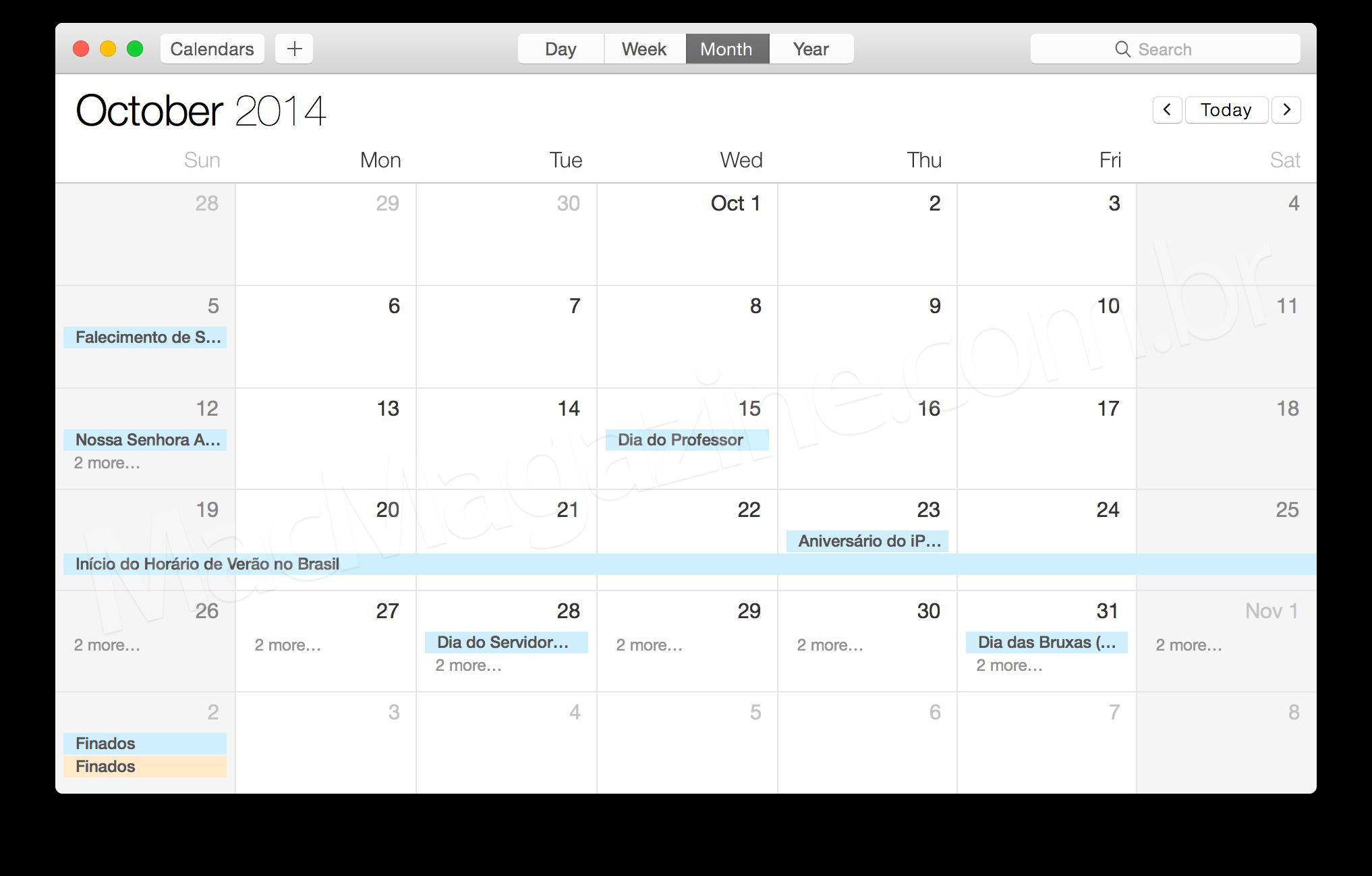Novidades no OS X Yosemite