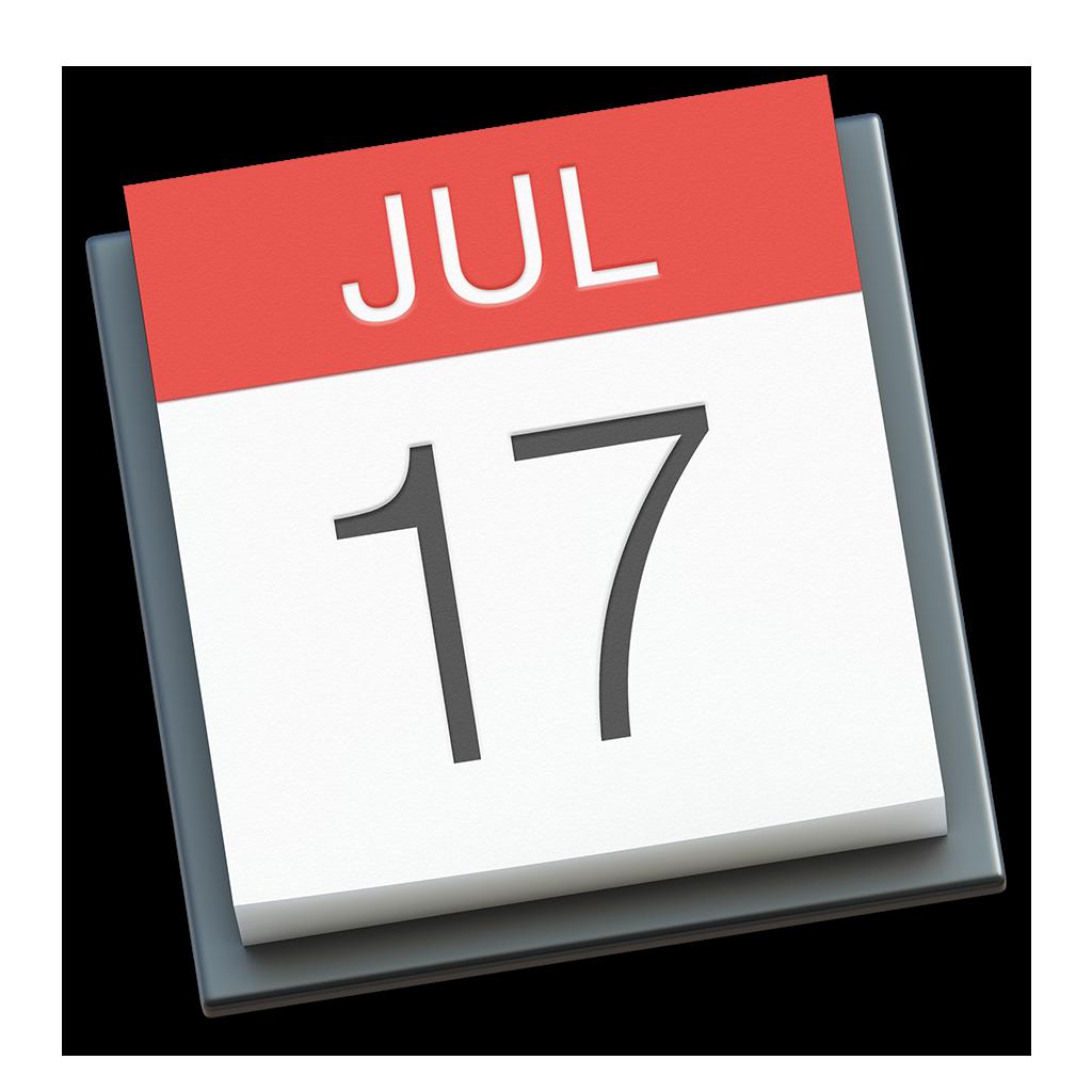 Ícone - Calendário do OS X Yosemite