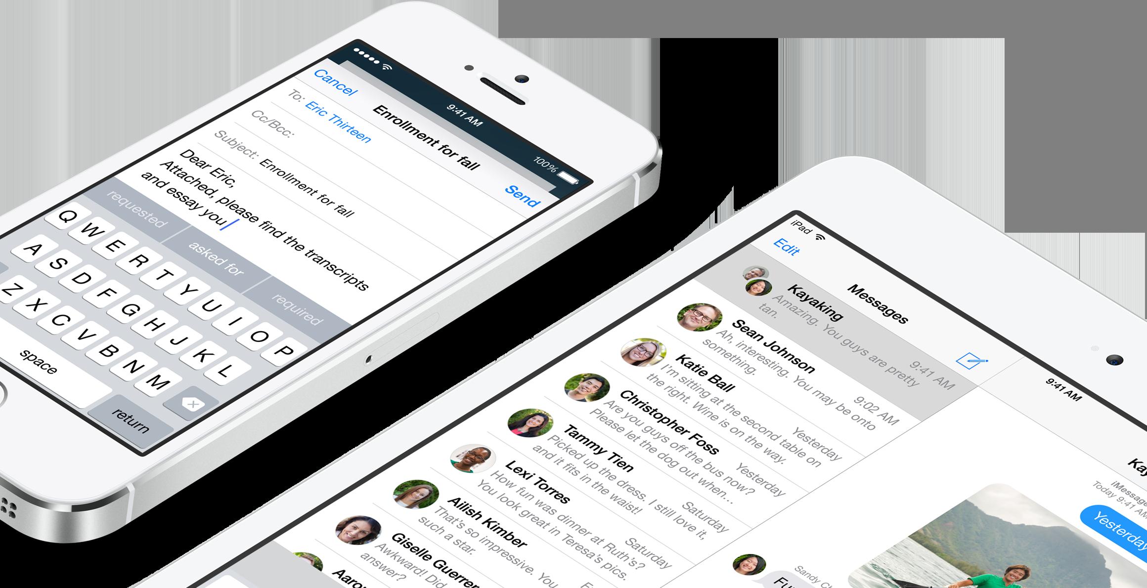 QuickType no teclado do iOS 8