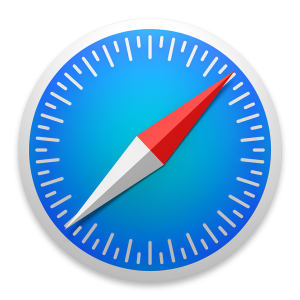 Ícone do Safari no OS X Yosemite