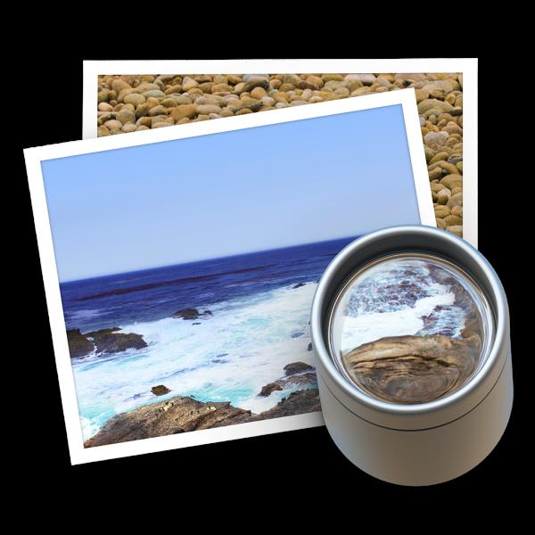 Ícone do Preview no OS X Yosemite