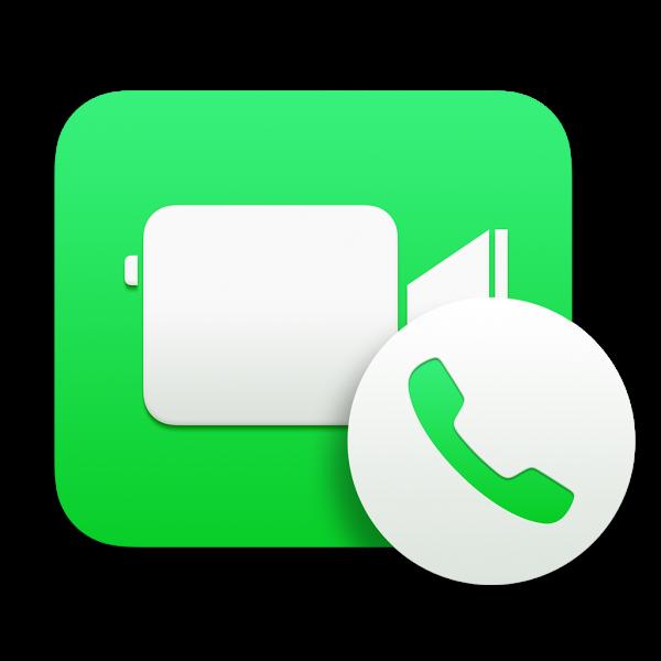Ícone do FaceTime no OS X Yosemite
